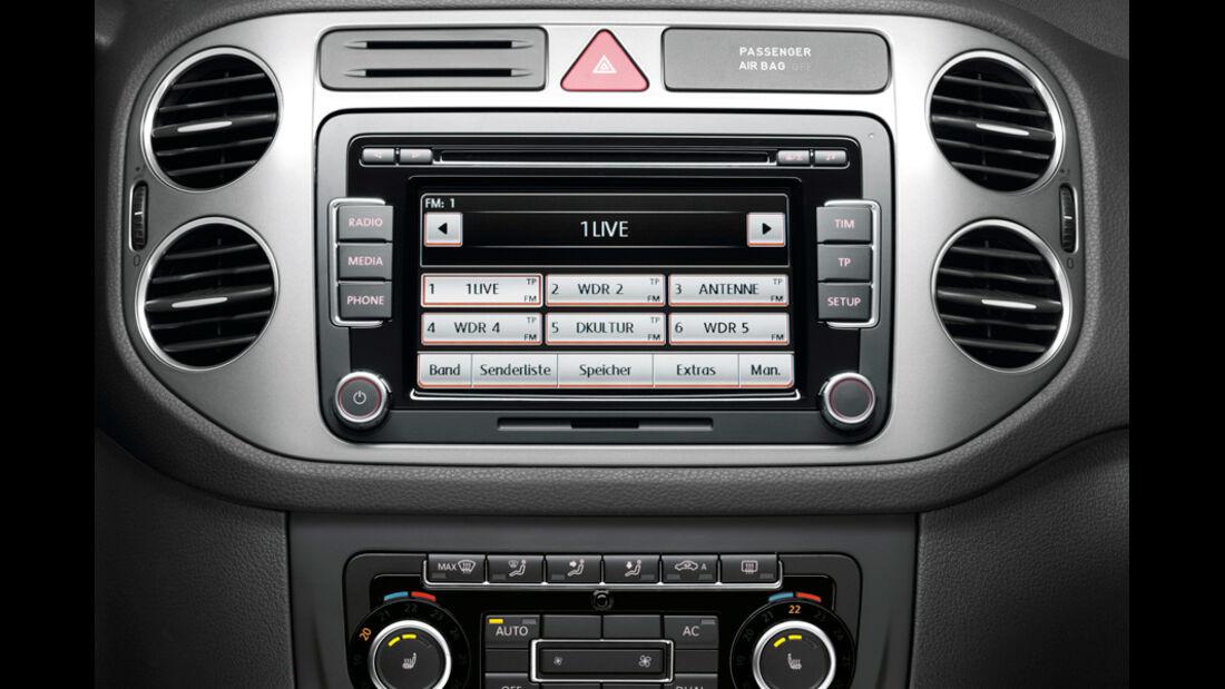 VW Tiguan Radio mit Navieinheit