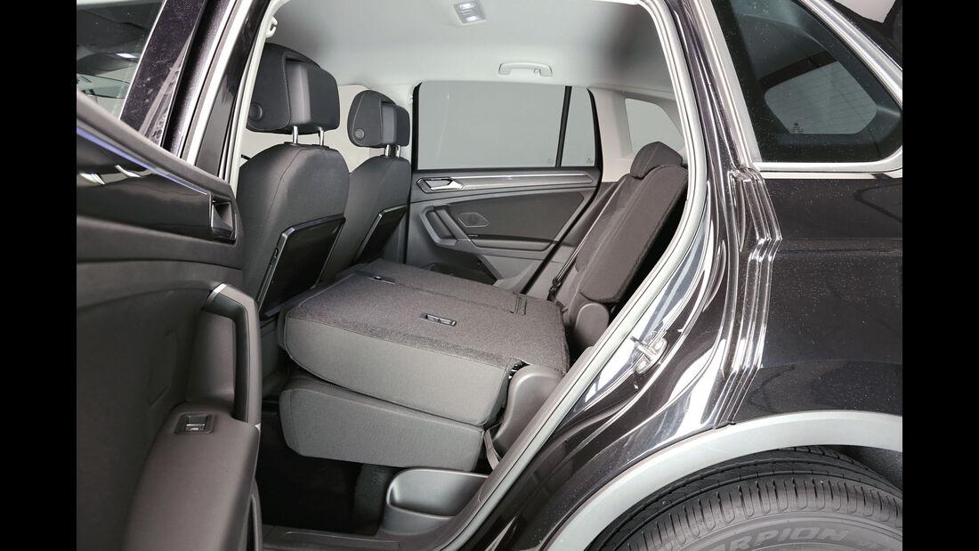 VW Tiguan - SUV - Rückbank
