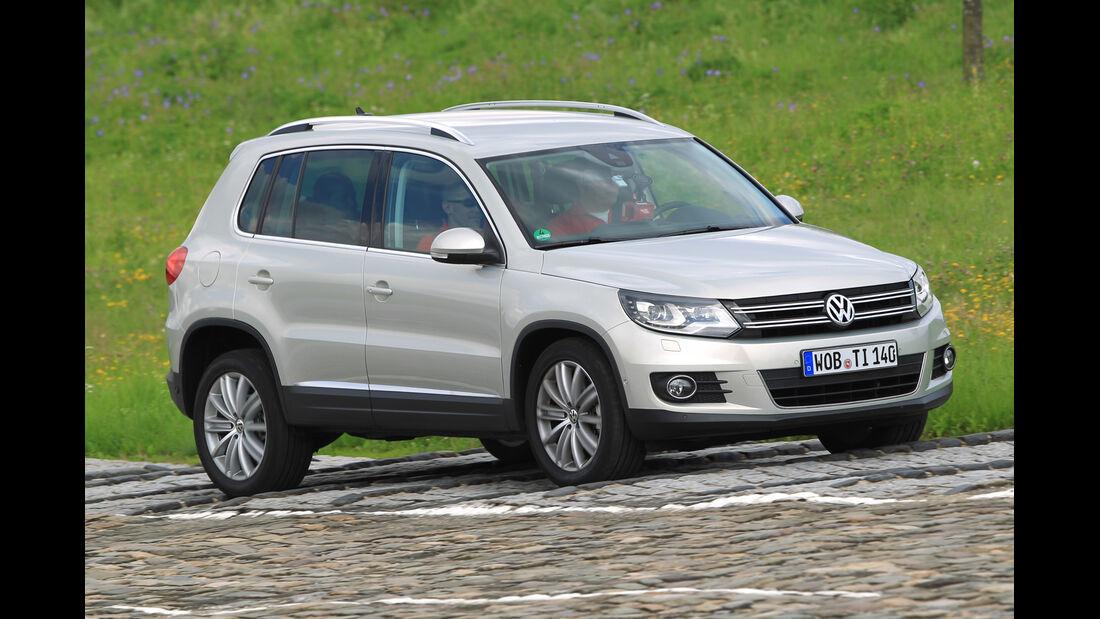 VW Tiguan, Seitenansicht