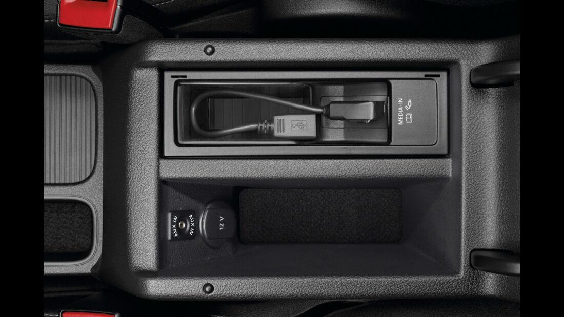 VW Tiguan USB-Schnittstelle