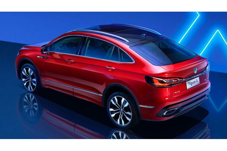 VW Tiguan X: SUV-Coupé für China - Teil 2 | AUTO MOTOR UND ...