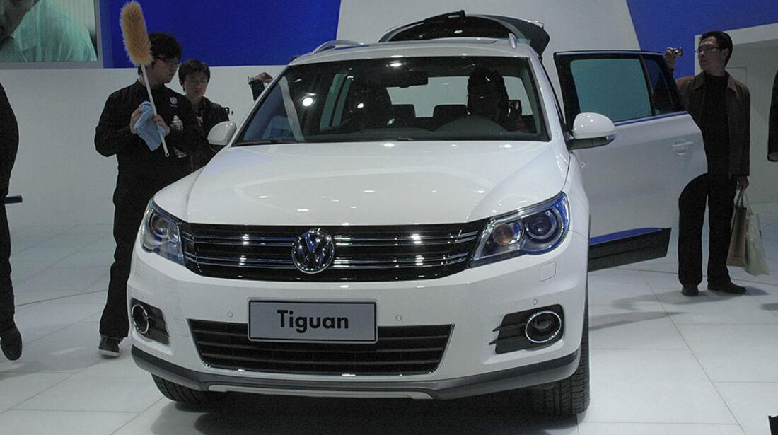 VW Tiguan auf der Auto China 2010