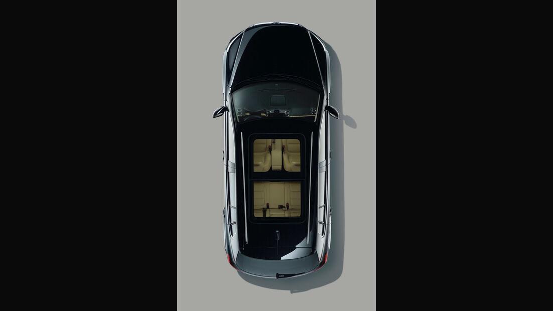 VW Tiguan draufsicht