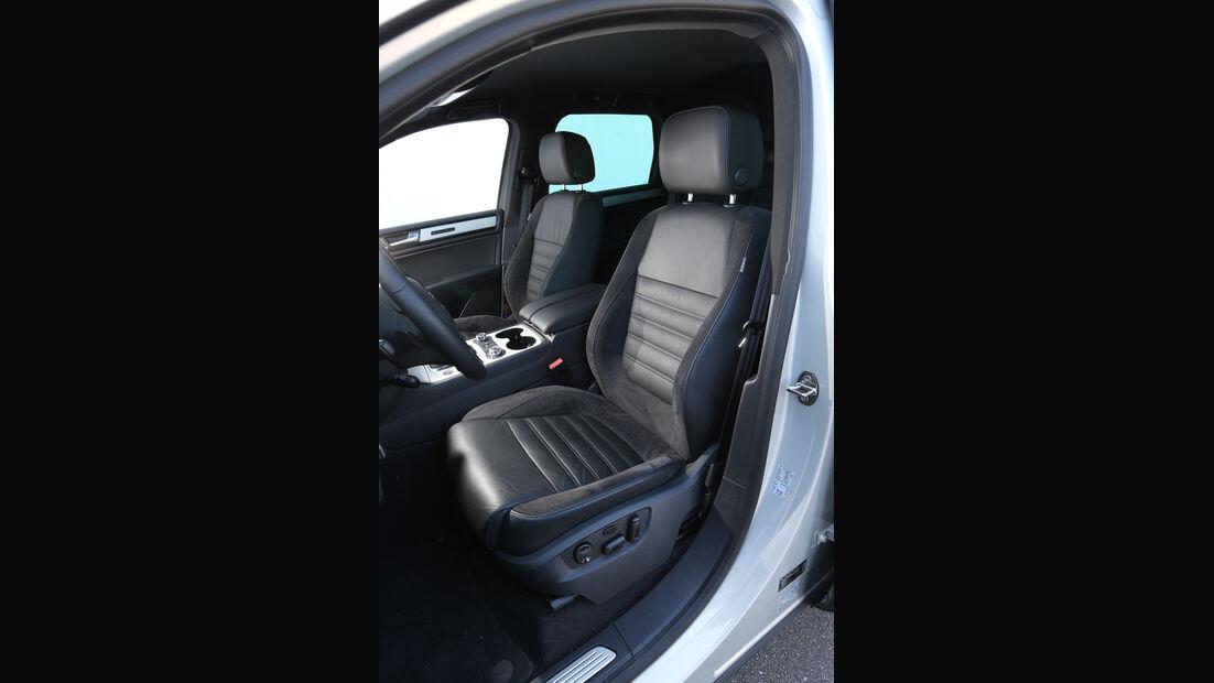 VW Touareg 3.0 TDI, Fahrersitz