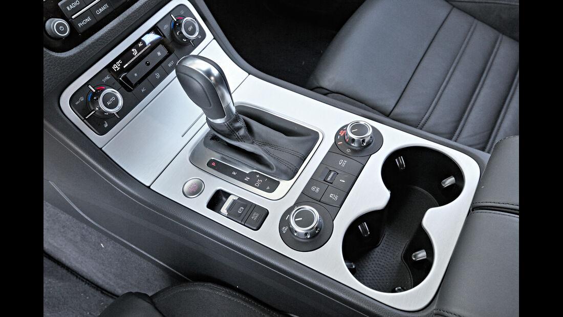 VW Touareg 3.0 TDI, Schalthebel