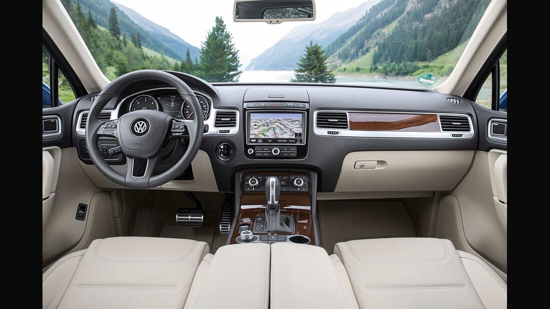 VW Touareg 3.0 V6 TDI SCR BMT, Cockpit