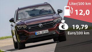 VW Touareg 3.0 V6 TSI 4 Motion R-Line Kosten Realverbrauch