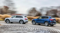 VW Touareg 3.0 V6 eHybrid, BMW X5 xDrive45e, Exterieur