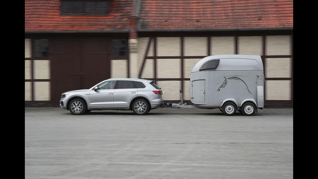 VW Touareg Advertorial 2018 Anhänger