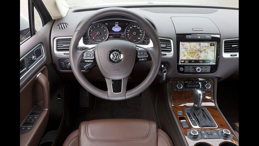 VW Touareg, Cockpit