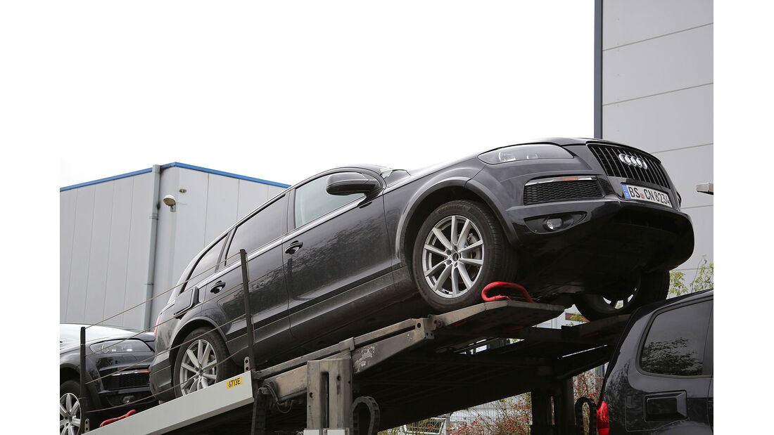 VW Touareg Erlkönig Muletto