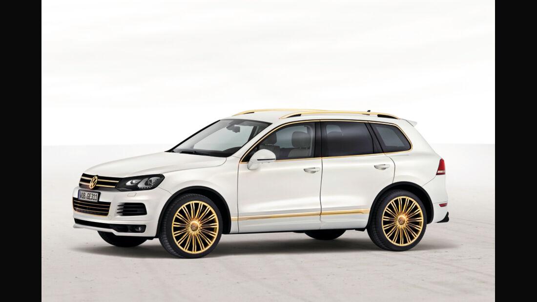VW Touareg Gold Edition