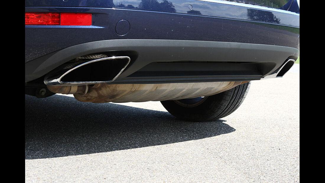 VW Touareg Hybrid Auspuffrohre