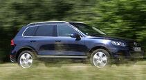 VW Touareg Hybrid Fahrt