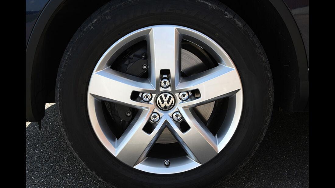 VW Touareg Hybrid Felge