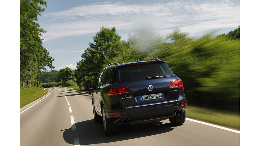 VW Touareg Hybrid Heck