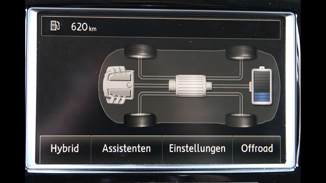 VW Touareg Hybrid Interieur