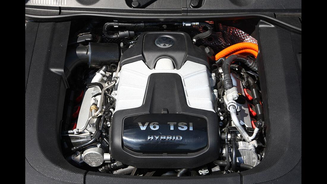 VW Touareg Hybrid Motor