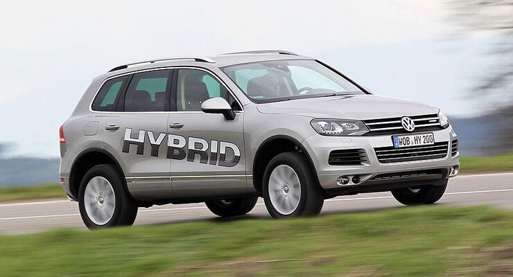 VW Touareg Hybrid