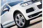 VW Touareg R-Line, Scheinwerfer, Felge