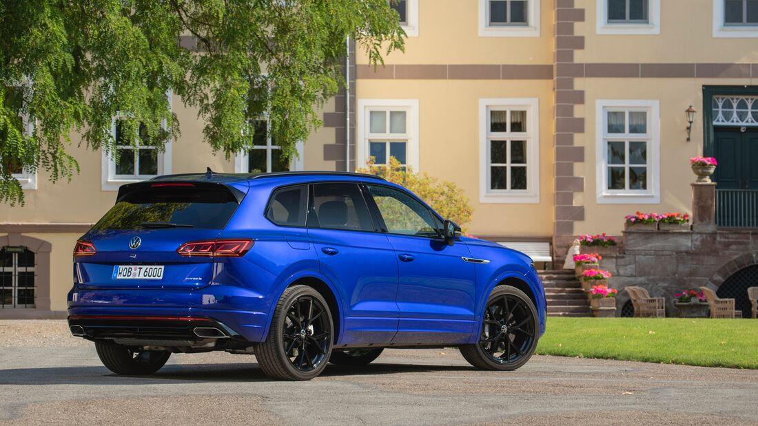 VW Touareg R und eHybrid 2021 Fahrbericht