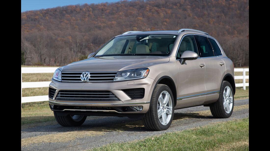 VW Touareg US-Modell