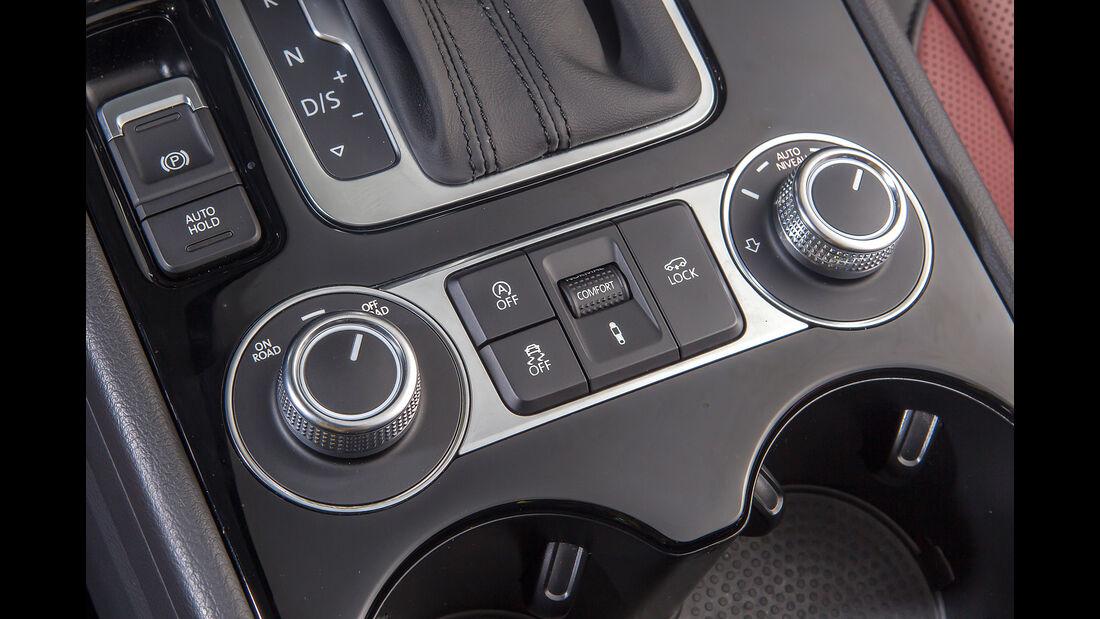 VW Touareg V6 TDI 4Motion, Bedienelemente