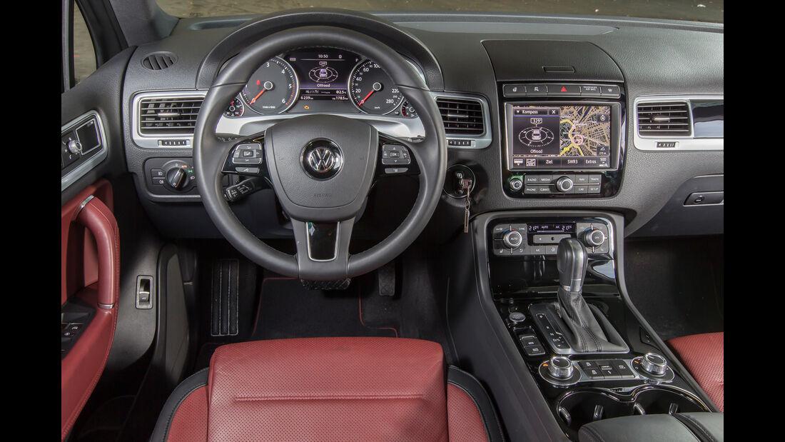 VW Touareg V6 TDI 4Motion, Cockpit