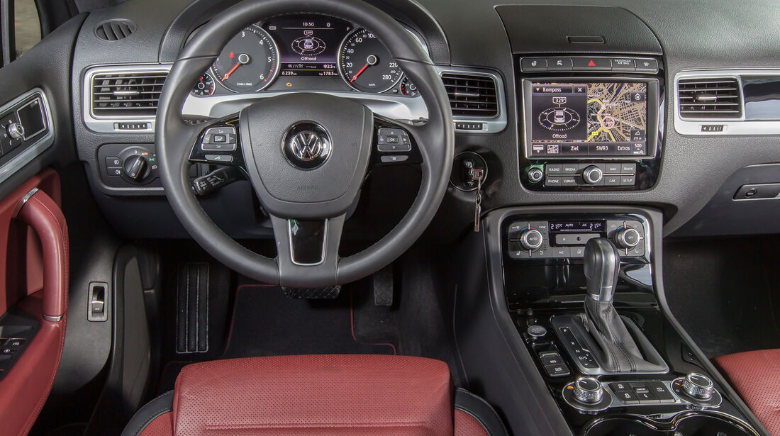 VW Touareg V6 TDI 4Motion, Cockpit