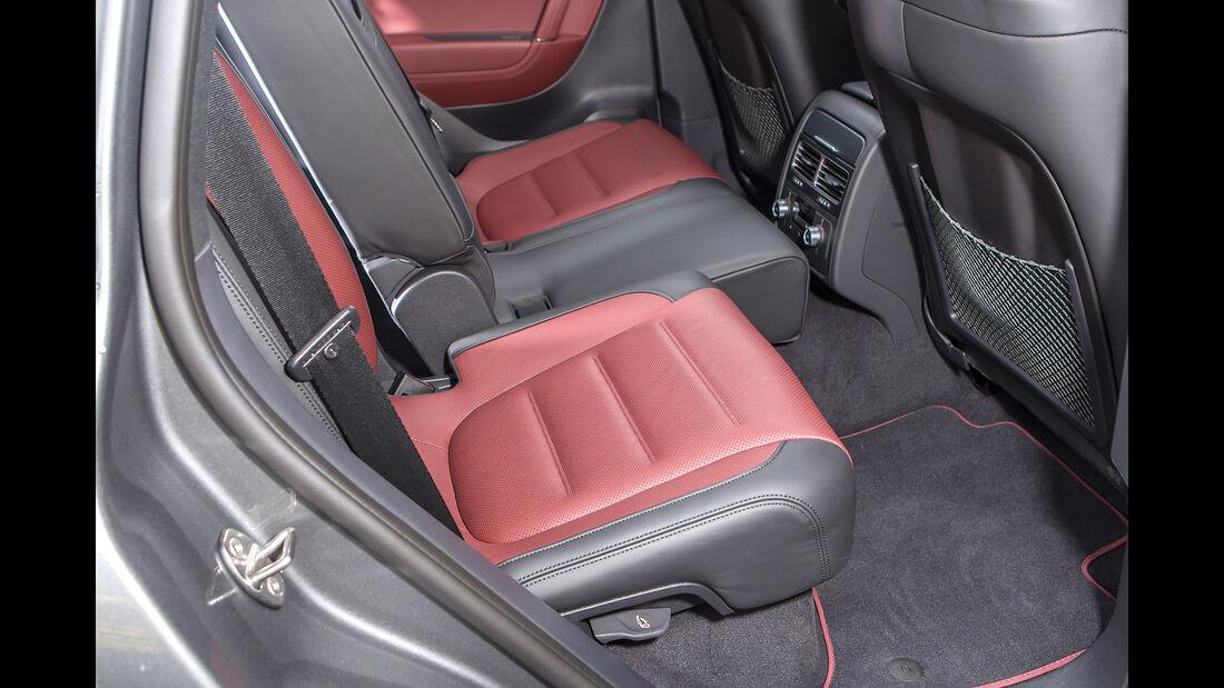 VW Touareg V6 TDI 4Motion, Fondsitze