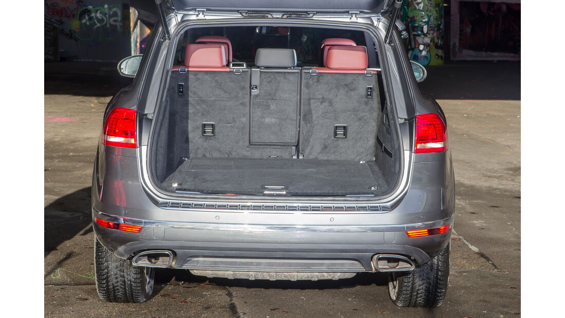 VW Touareg V6 TDI 4Motion, Kofferraum