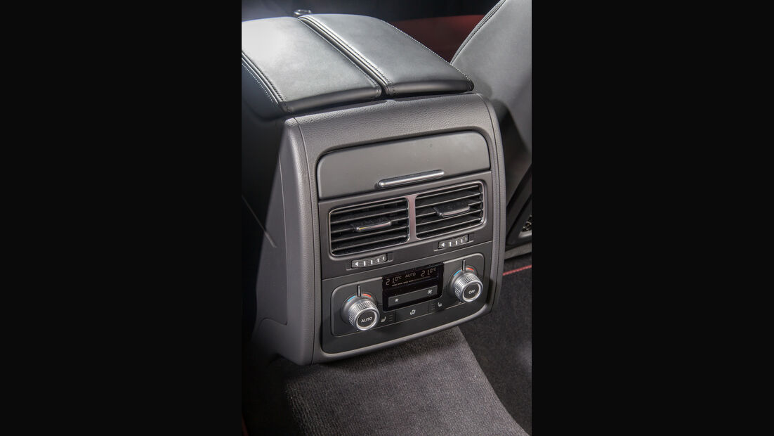 VW Touareg V6 TDI 4Motion, Luftausströmer