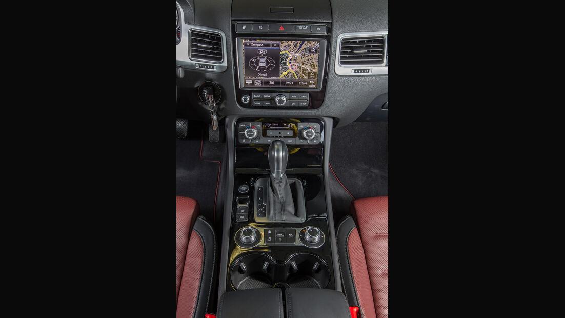 VW Touareg V6 TDI 4Motion, Mittelkonsole