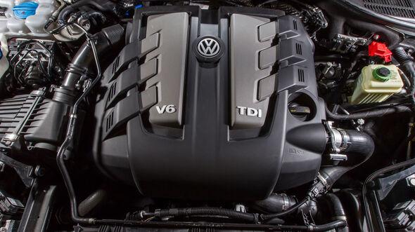 VW Touareg V6 TDI 4Motion, Motor