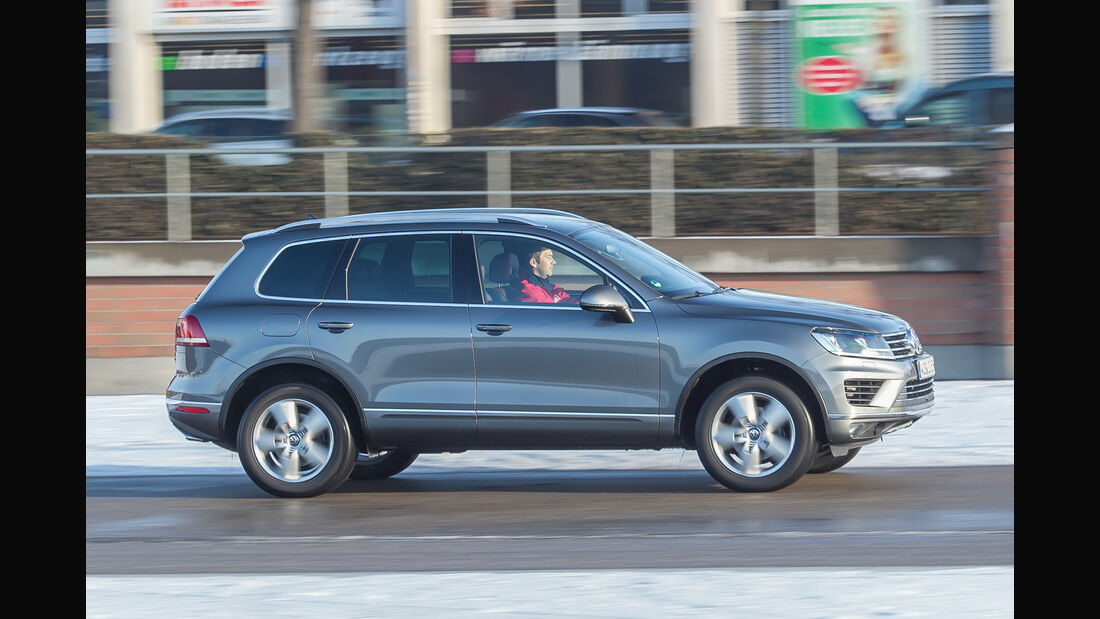 VW Touareg V6 TDI 4Motion, Seitenansicht