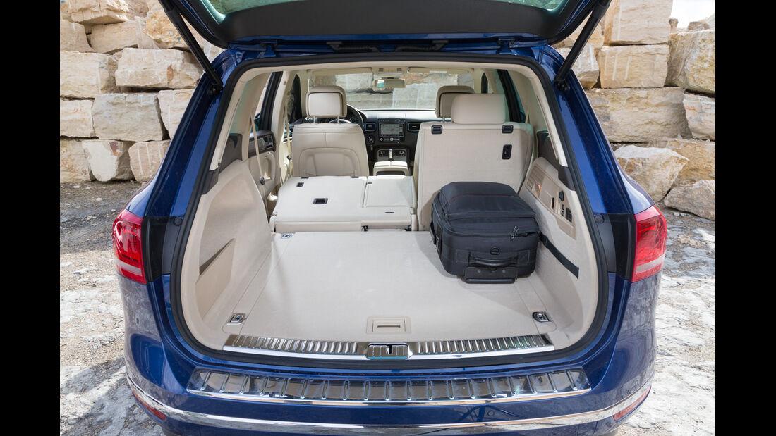 VW Touareg V6 TDI BMT SGR, Kofferraum