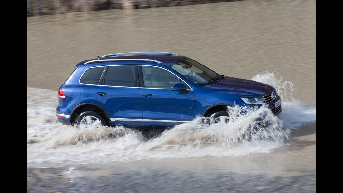 VW Touareg V6 TDI BMT SGR, Seitenansicht