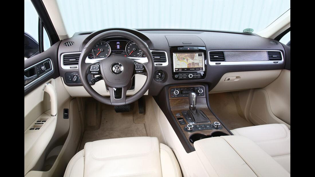 VW Touareg V6 TDI Blue Motion, Cockpit