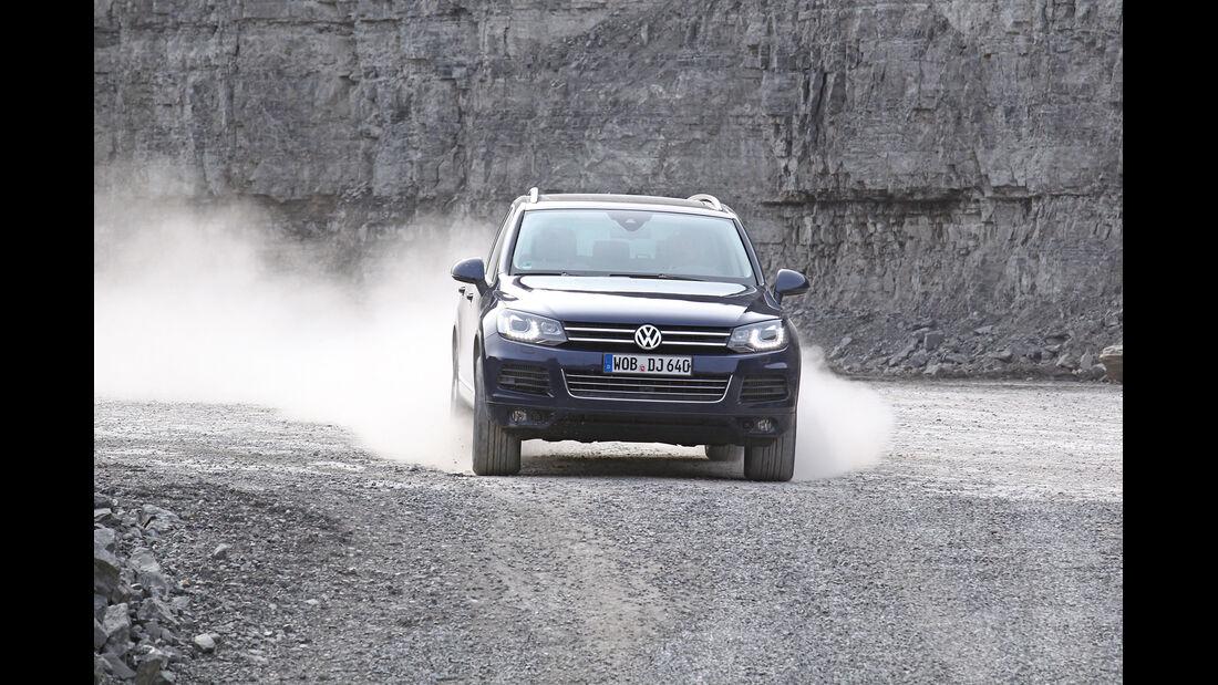 VW Touareg V6 TDI Blue Motion, Front, Gelände