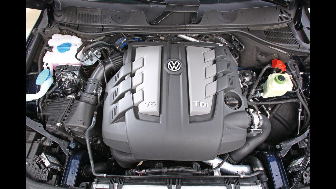 VW Touareg V6 TDI Blue Motion, Motor