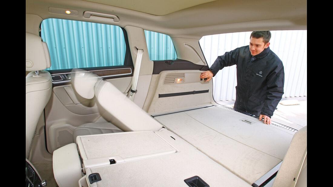 VW Touareg V6 TDI Blue Motion, Rücksitz, umklappen