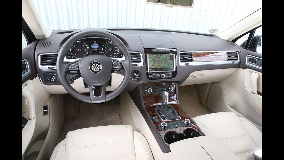 VW Touareg V6 TDI Cockpit