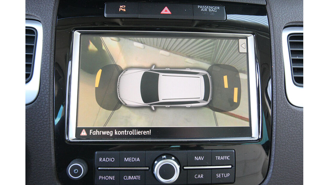 VW Touareg V6 TDI Einparkhilfe