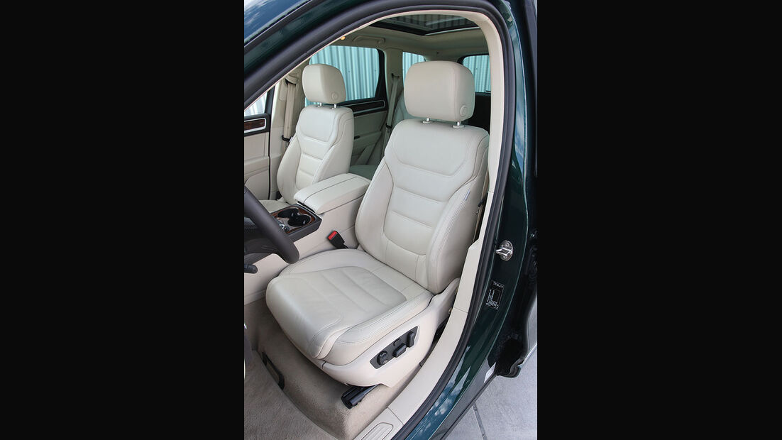 VW Touareg V6 TDI Fahrersitz