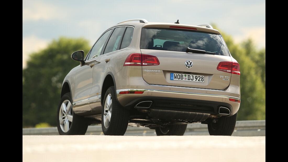 VW Touareg V6 TDI, Heckansicht
