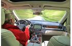 VW Touareg V6 TDI Innenraum