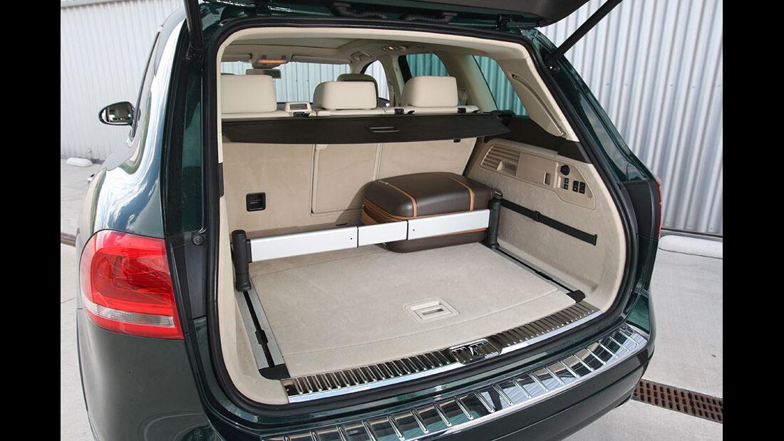 VW Touareg V6 TDI Kofferraum