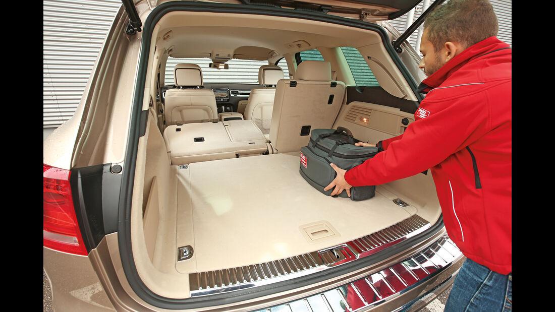 VW Touareg V6 TDI, Kofferraum