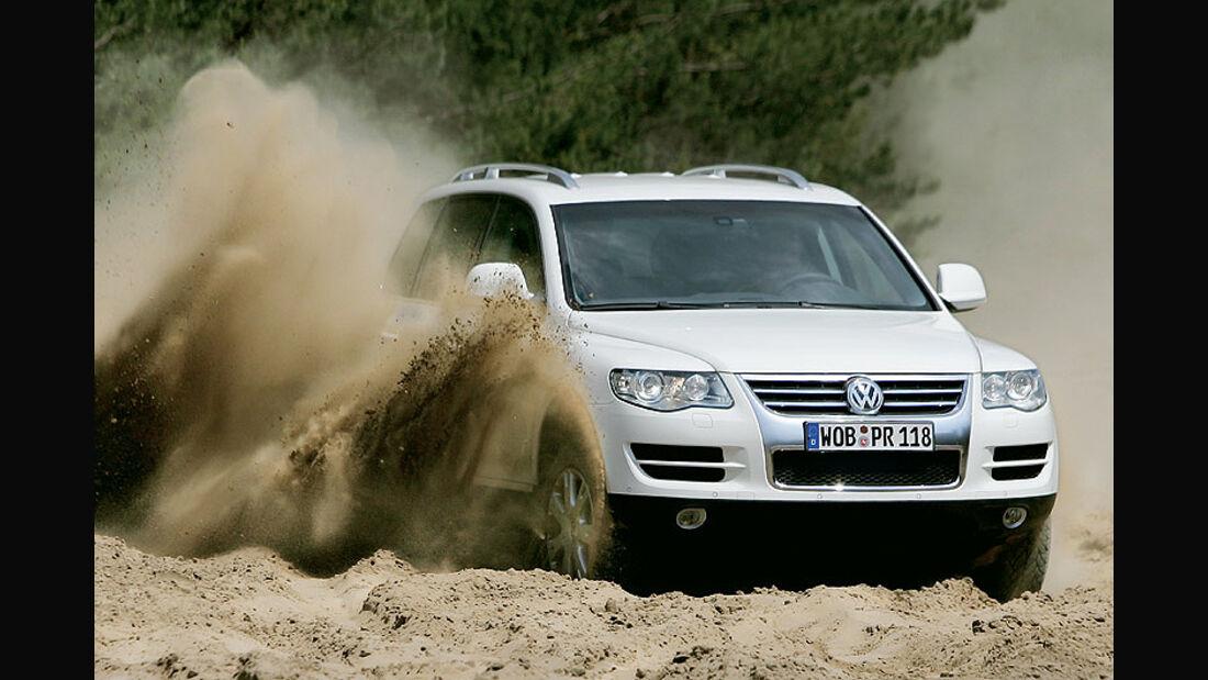 VW Touareg V6 TDI im 4wheelfun-Supertest