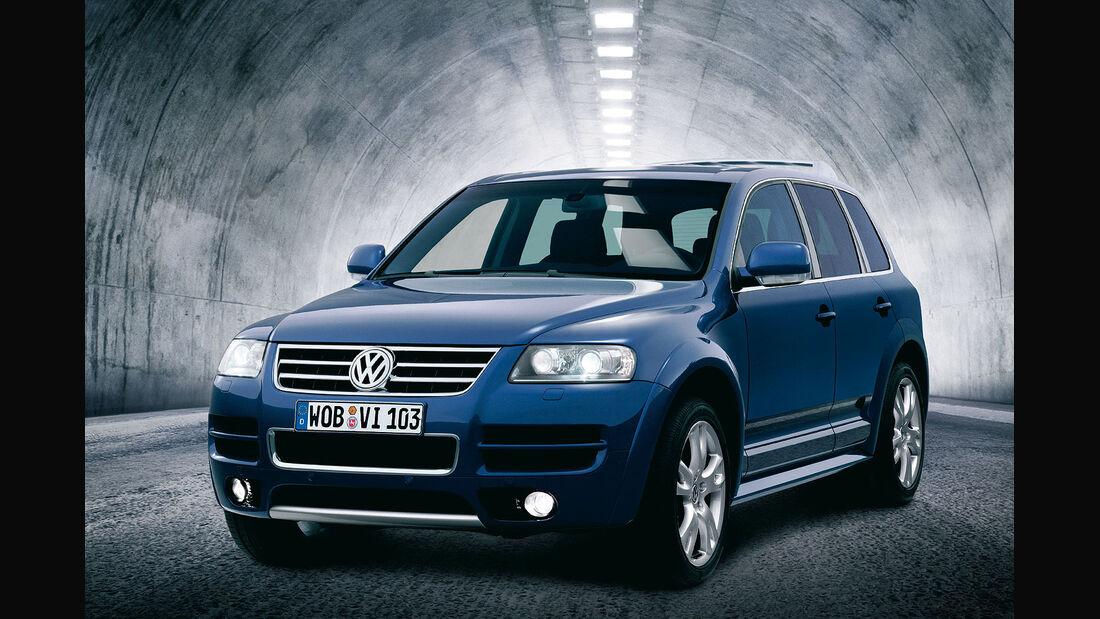 VW Touareg W12 Sport, Modelljahr 2004